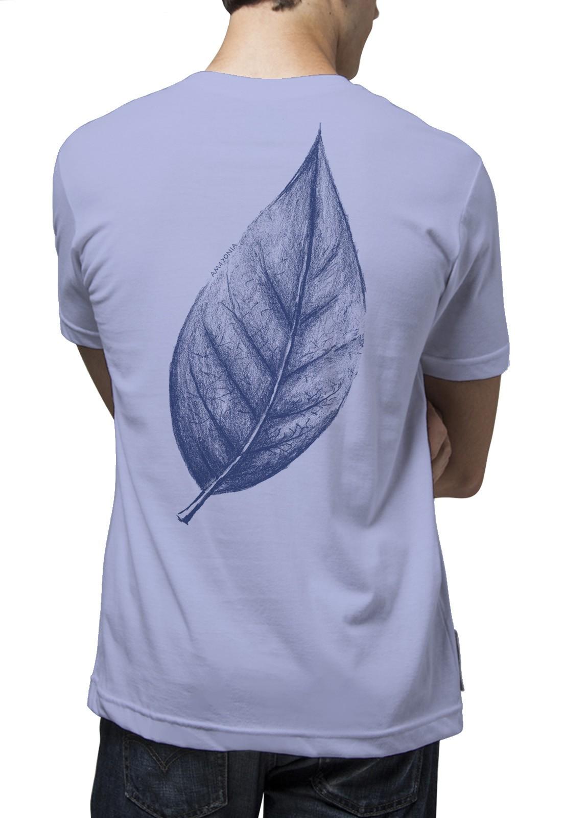 Camiseta Amazônia Big Leaf - Lilás