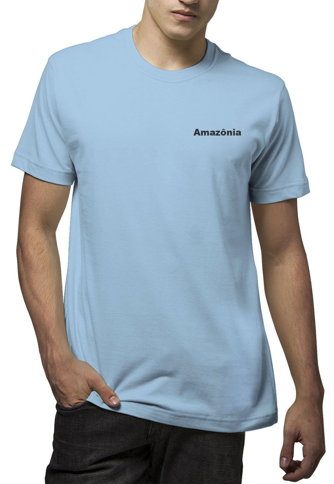 Camiseta Amazônia Birds - Azul