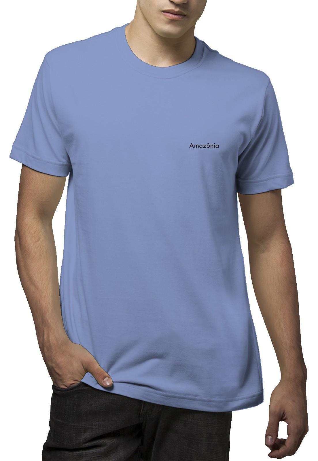 Camiseta Amazônia Buda Luz - Lilás