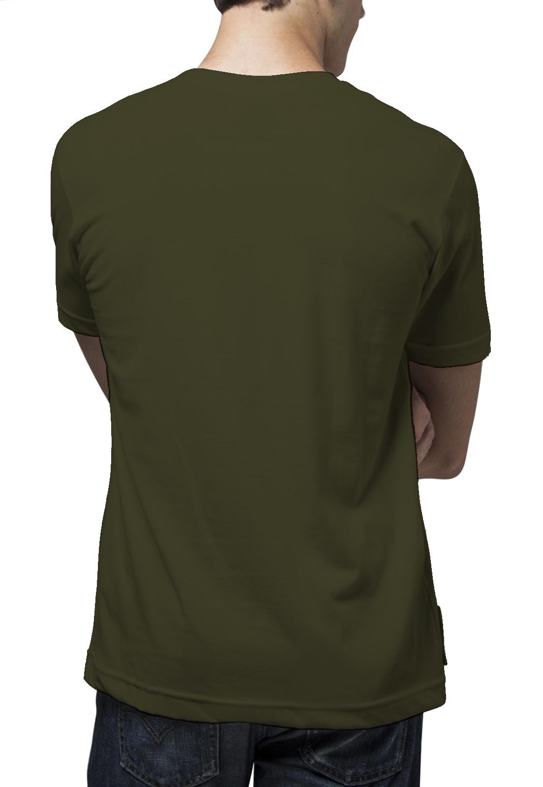 Camiseta Amazônia Cenas Floresta - Verde Escuro