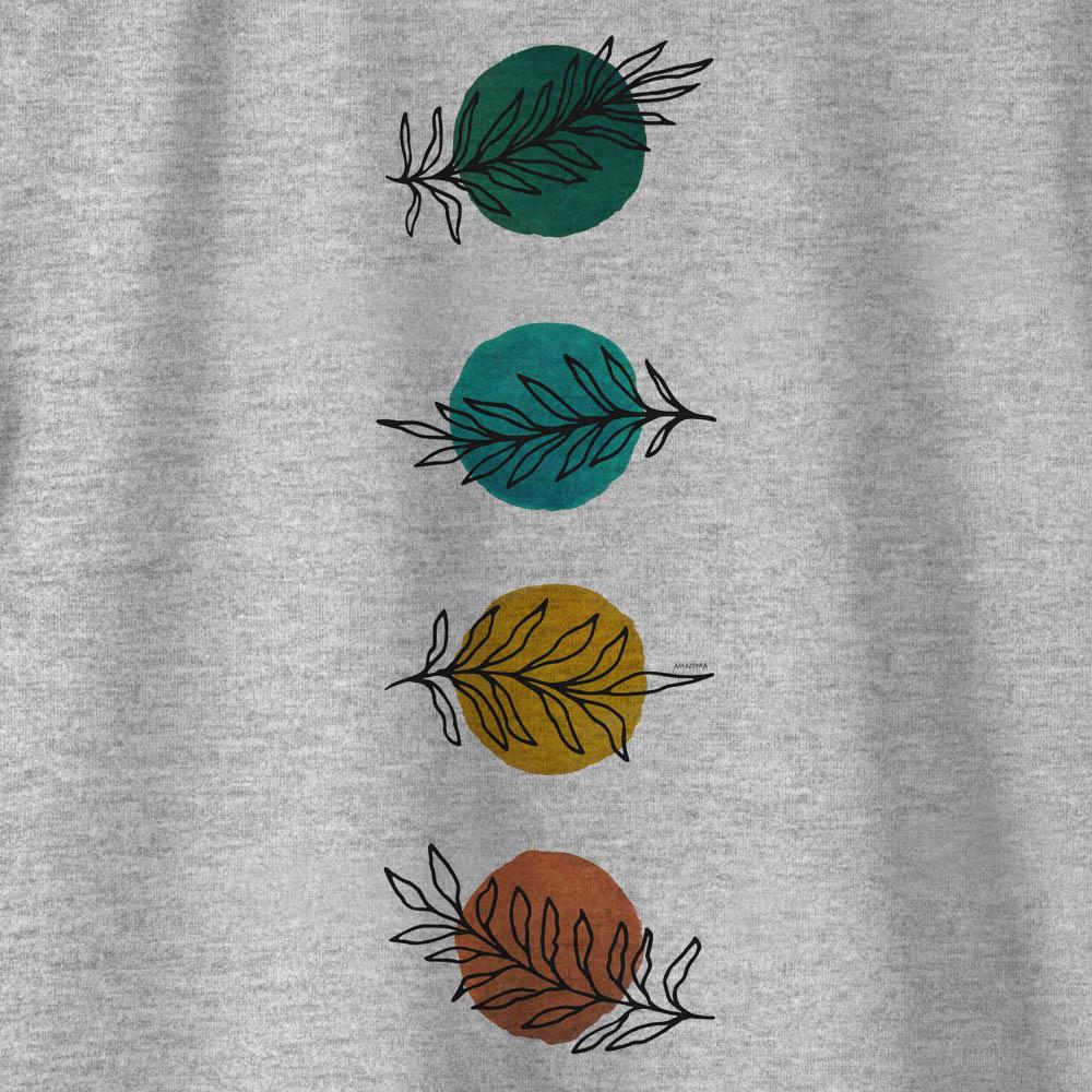 Camiseta Amazônia CHAKRAS - MESCLA CLARO