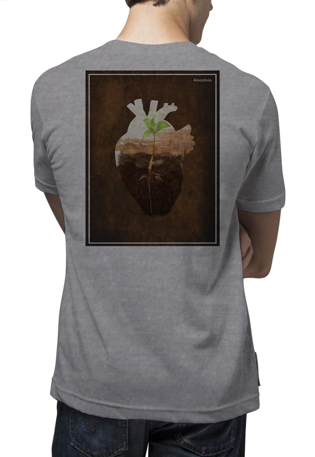 Camiseta Amazônia Core - Mescla