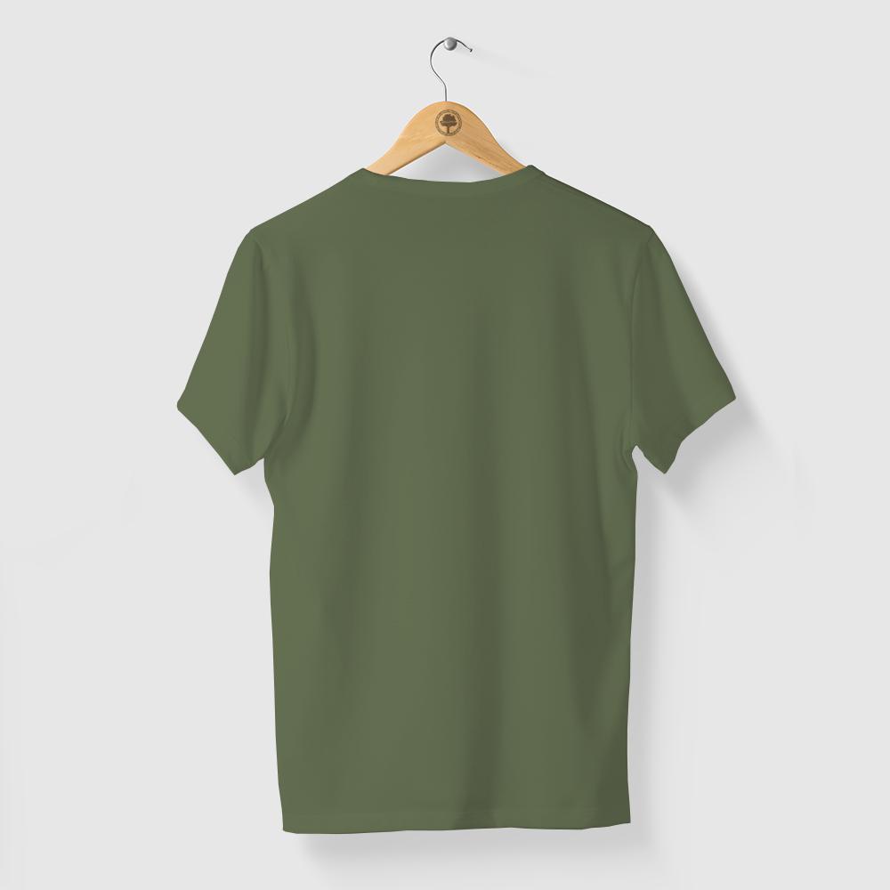 Camiseta Amazônia CORES LOGO - VERDE ESCURO