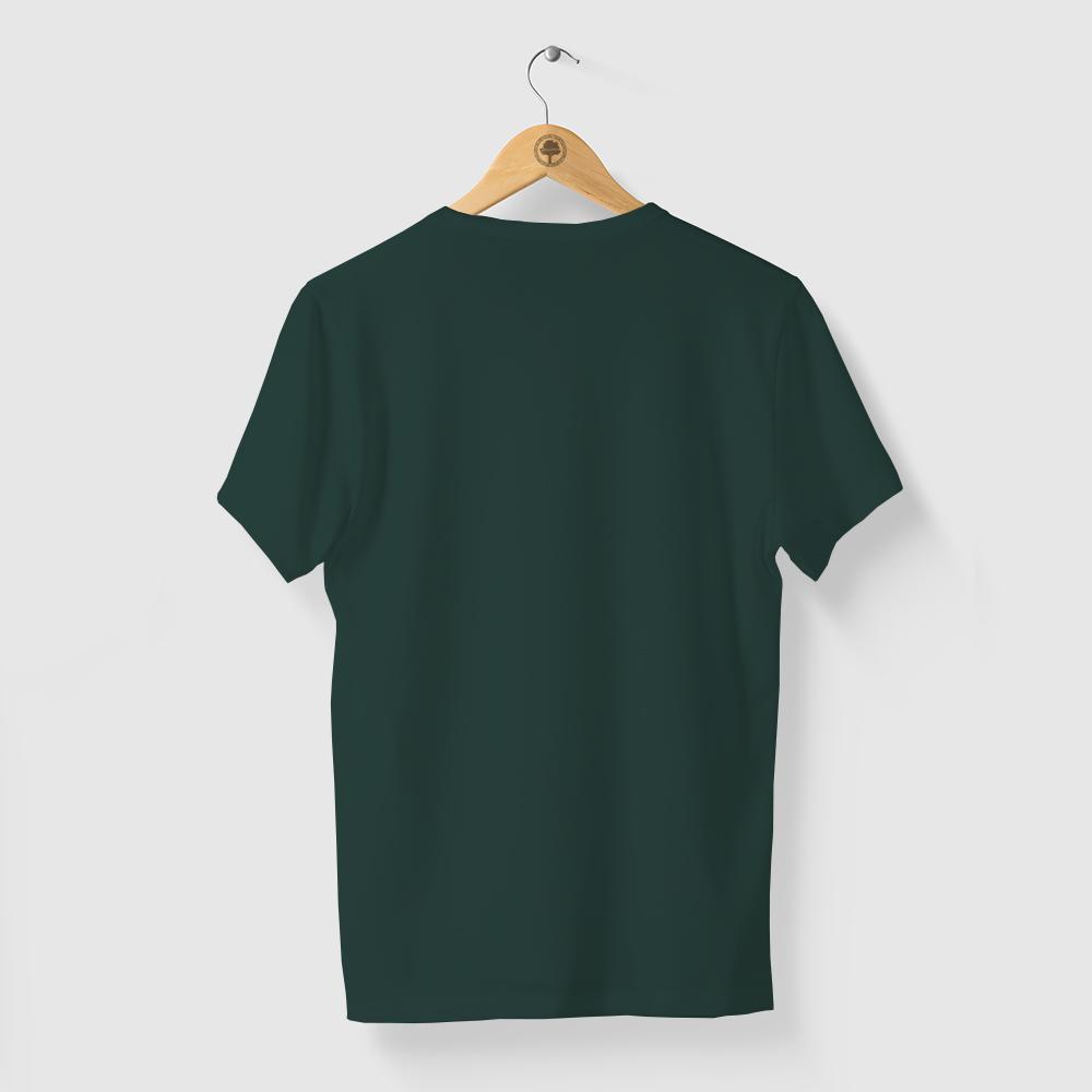 Camiseta Amazônia CORES LOGO - VERDE MÁLAGA