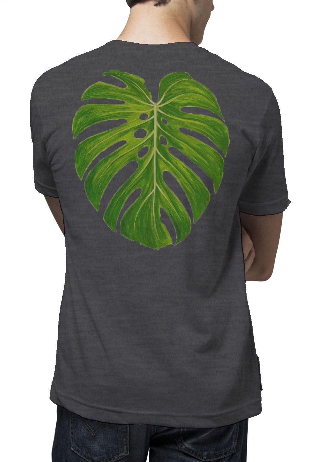 Camiseta Amazônia Costela de Adão - Mescla