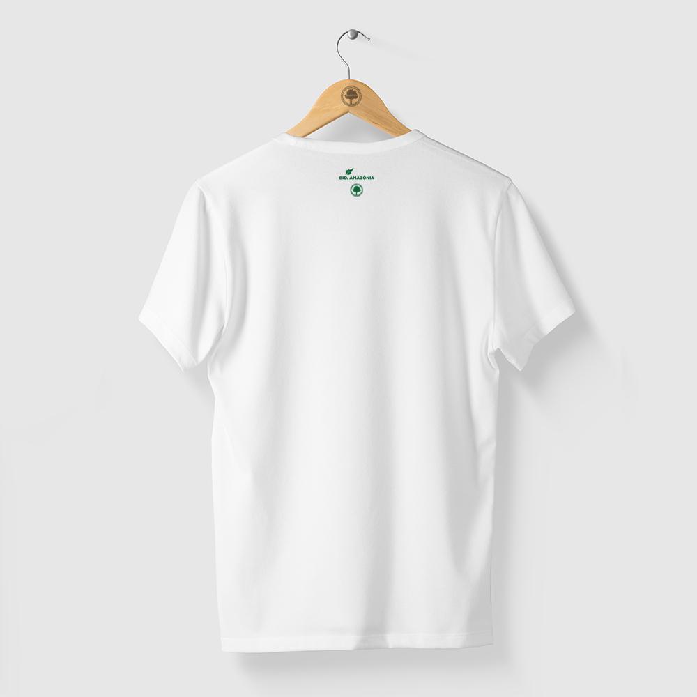 Camiseta Amazônia ECO AMAZÔNIA - BRANCO