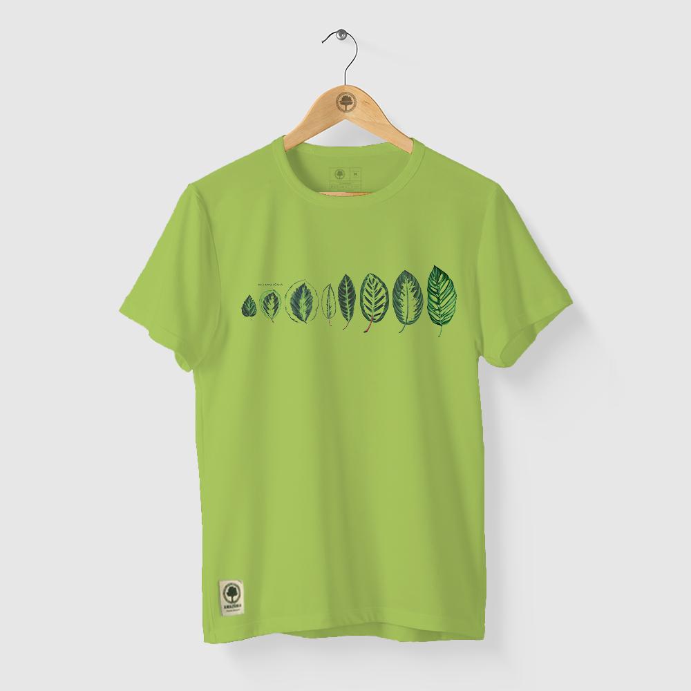 Camiseta Amazônia ECO AMAZÔNIA - VERDE