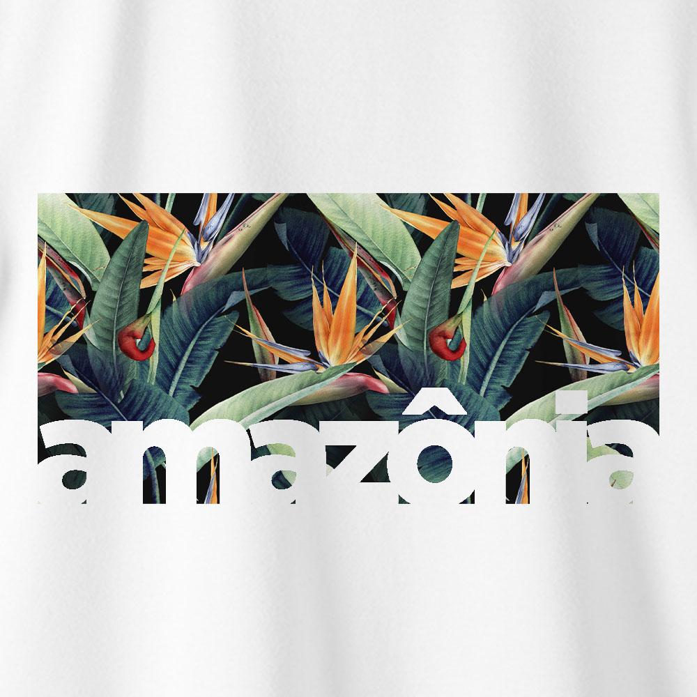 Camiseta Amazônia ECOSSISTEMA - BRANCO