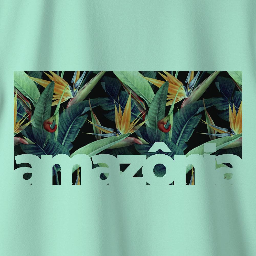 Camiseta Amazônia ECOSSISTEMA - VERDE