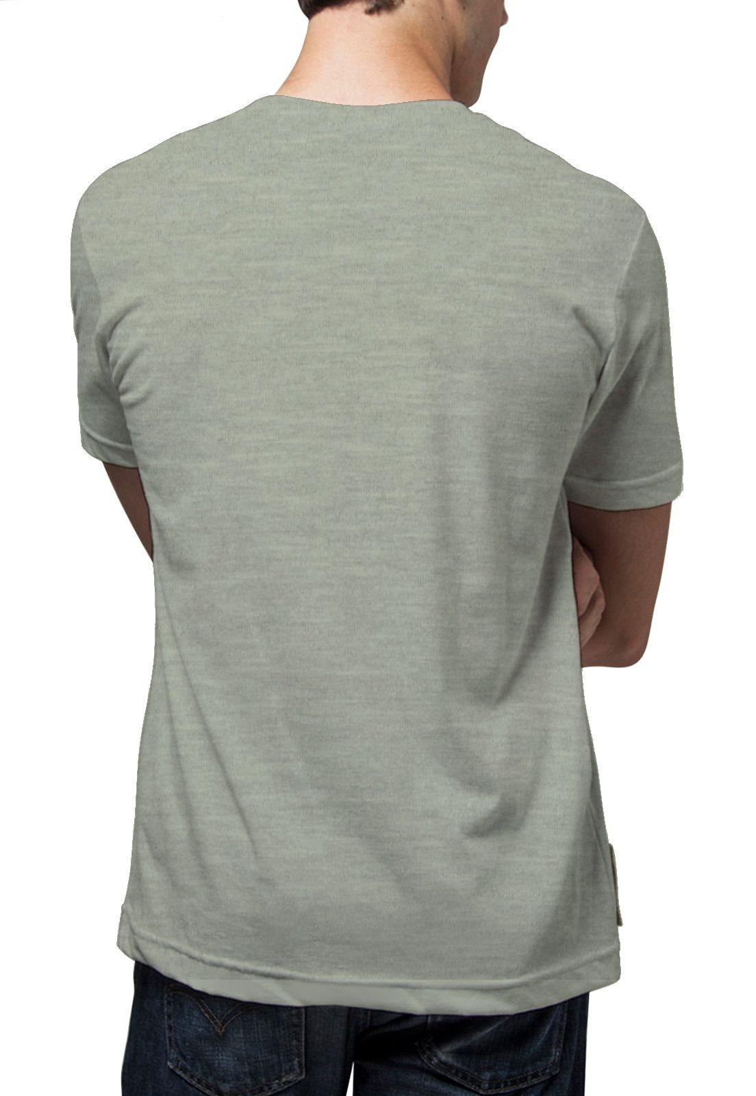 Camiseta Amazônia Eletrocardio - Mescla Verde