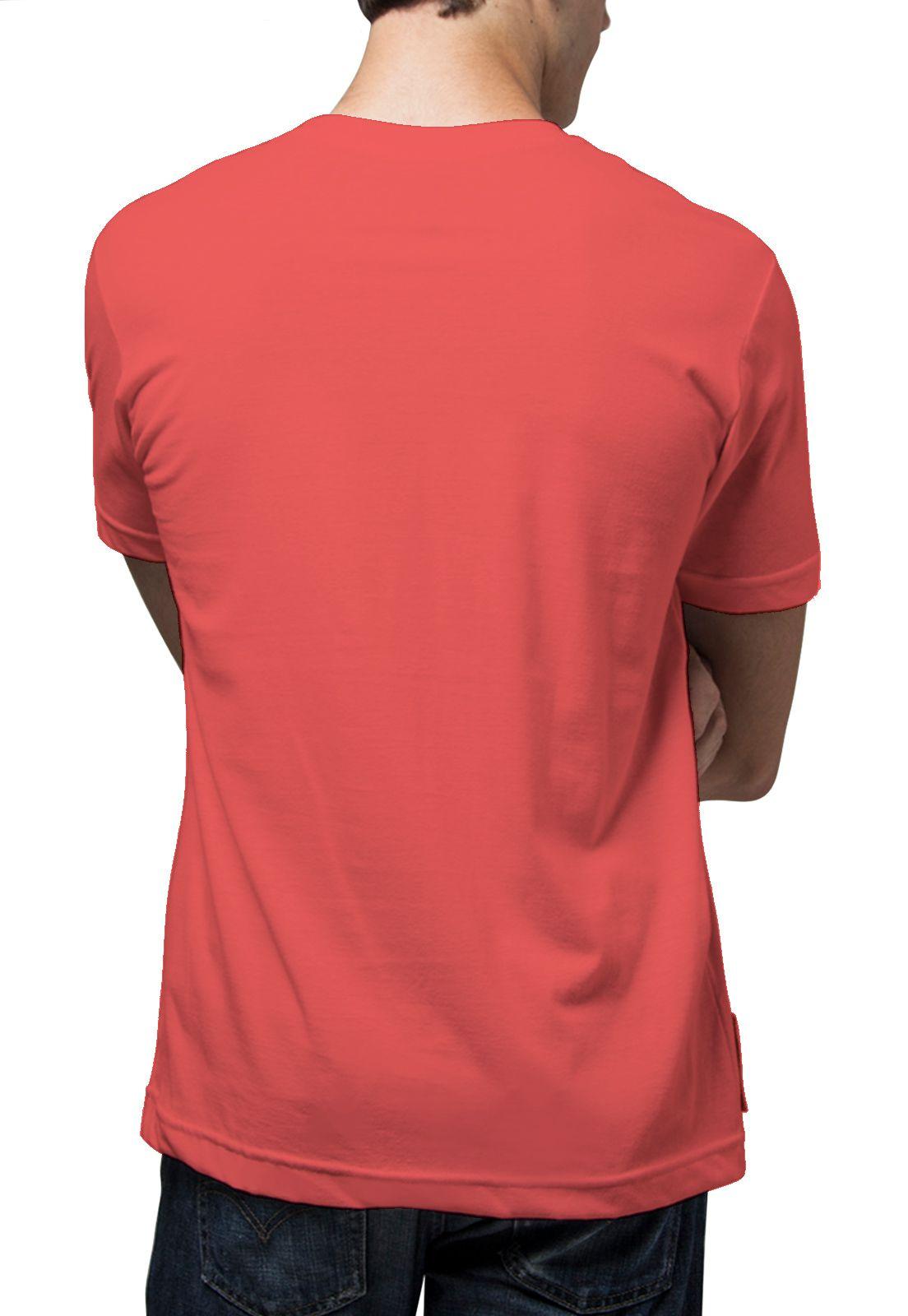 Camiseta Amazônia Eletrocardio - Vermelho