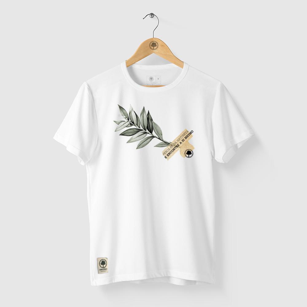 Camiseta Amazônia Encontre-se - Branco