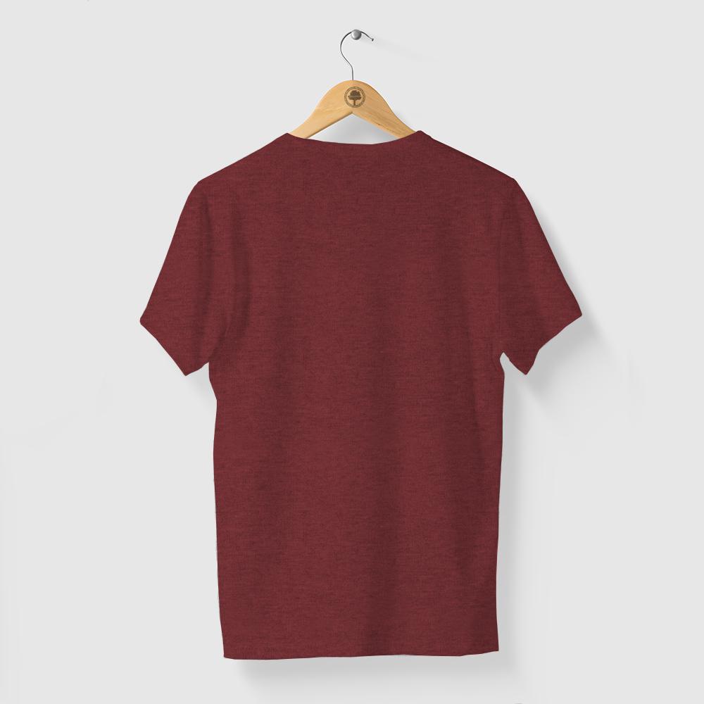 Camiseta Amazônia FLECHA GRÁFICA - MESCLA VERMELHO