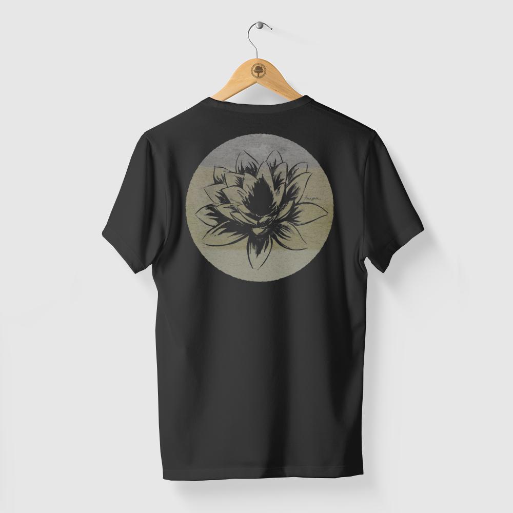 Camiseta Amazônia FLOR AMAZÔNICA - PRETO