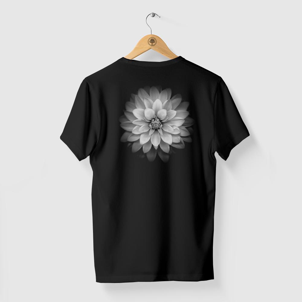 Camiseta Amazônia Flor Origens - Preto