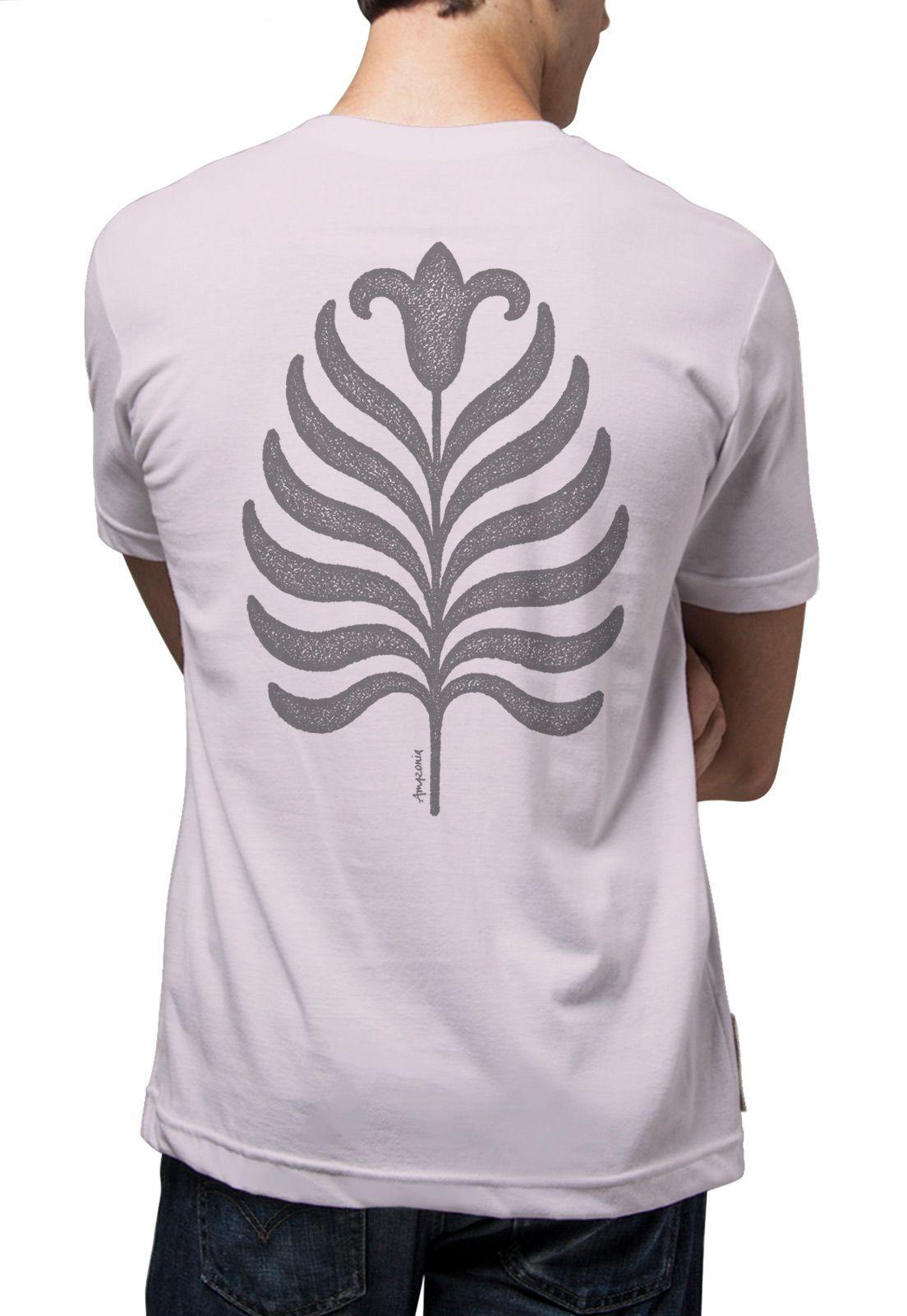 Camiseta Amazônia Flor Roots - Lilás