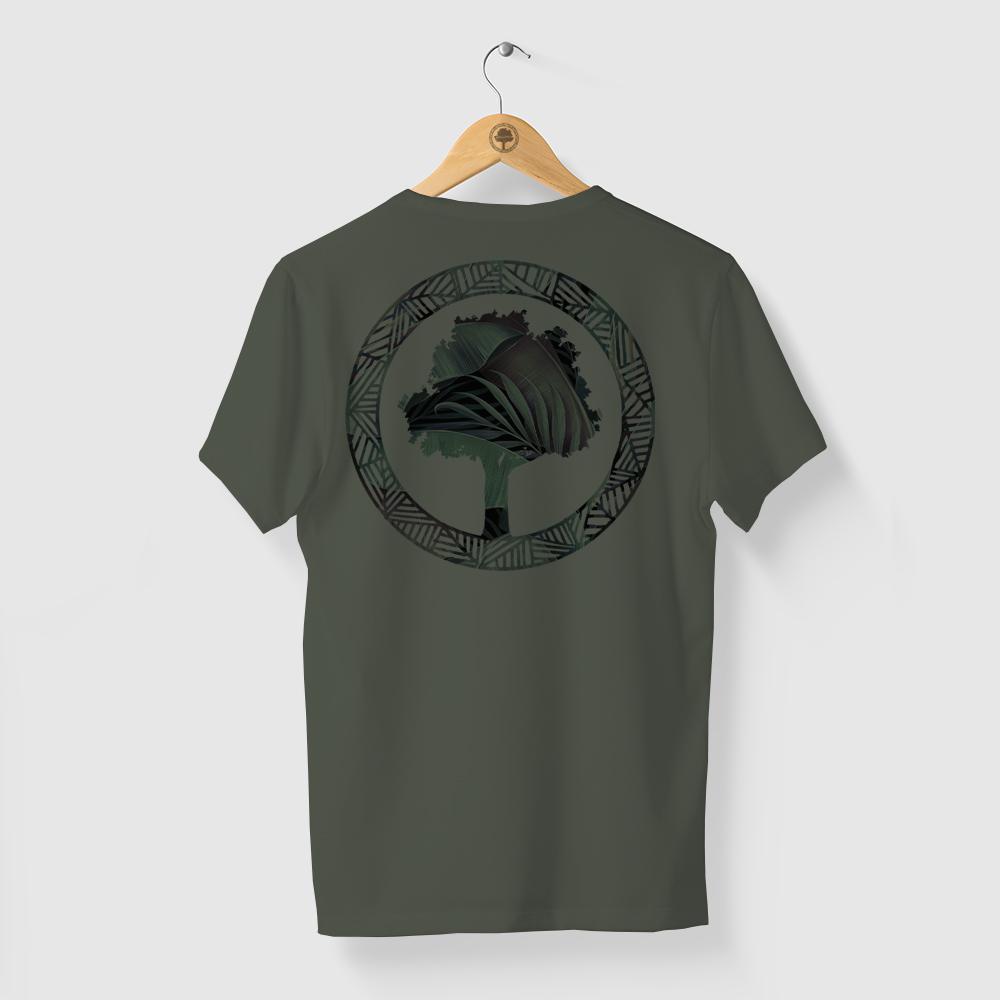 Camiseta Amazônia FLORESTA LOGO - VERDE