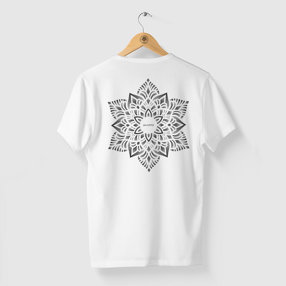 Camiseta Amazônia Flower - Branco