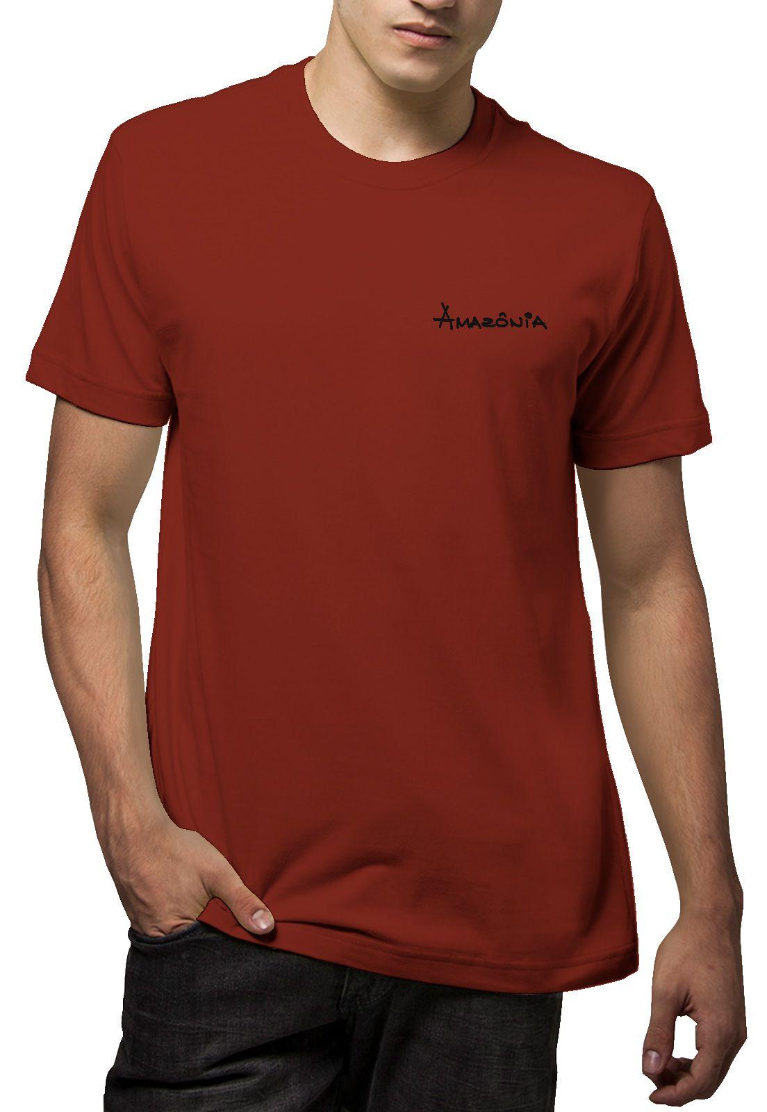 Camiseta Amazônia Folha Arte Gráfica - VIinho