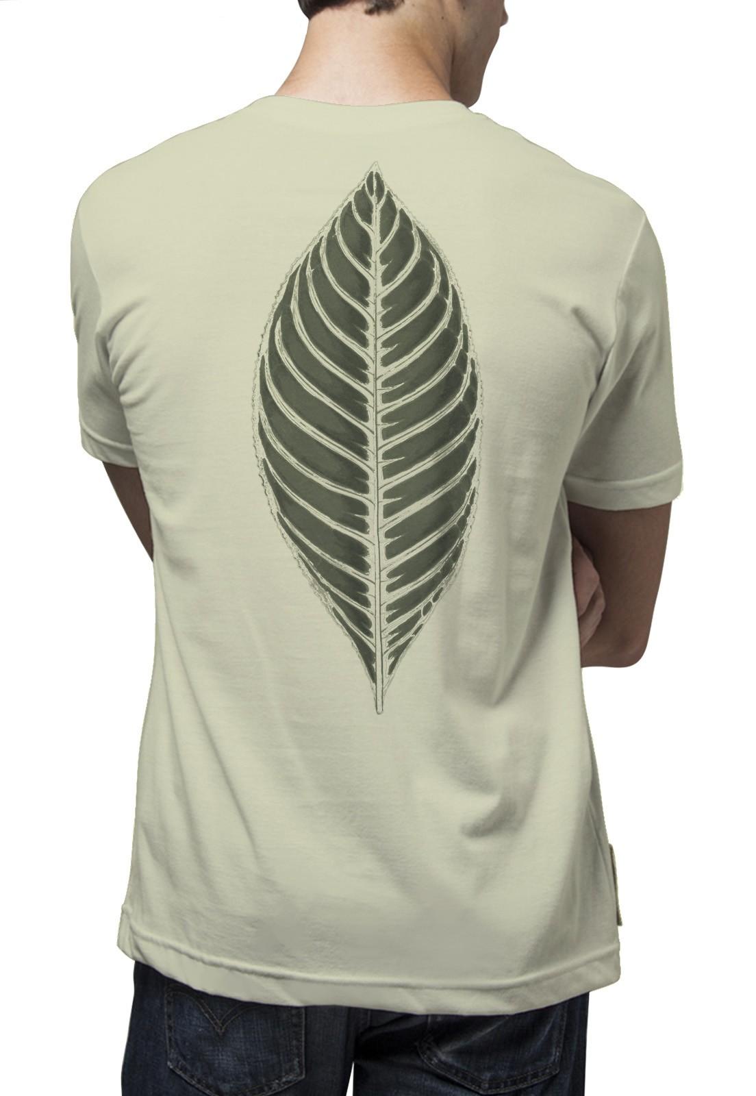 Camiseta Amazônia Folha - Verde Claro