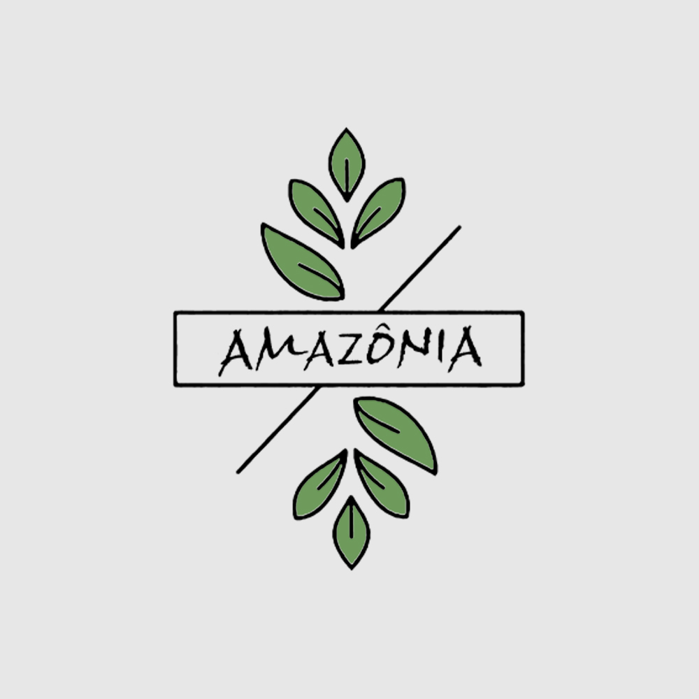 Camiseta Amazônia Folhagem - Preto