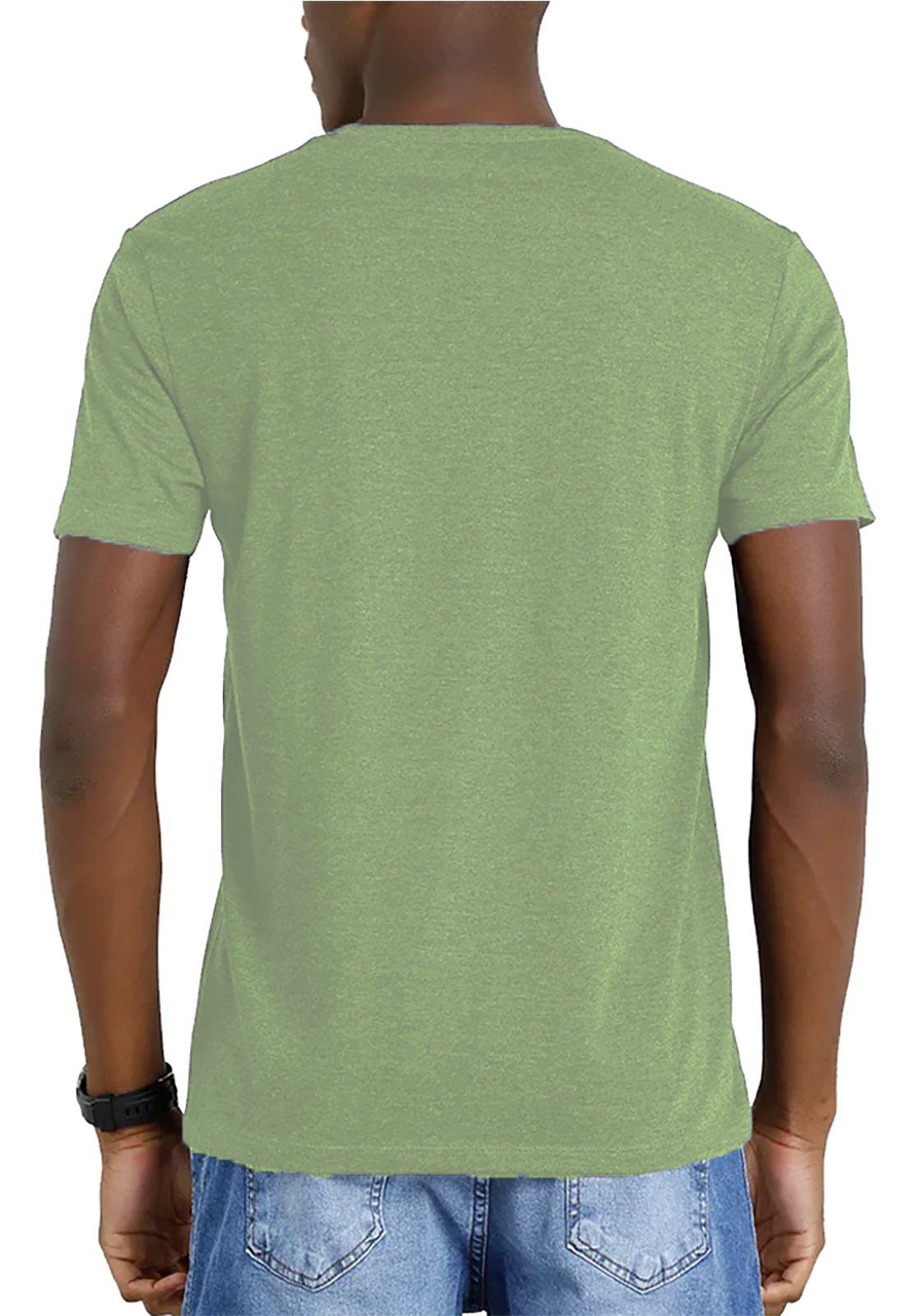 Camiseta Amazônia Garrafa Pet Tucano Asas Abertas - Verde Claro