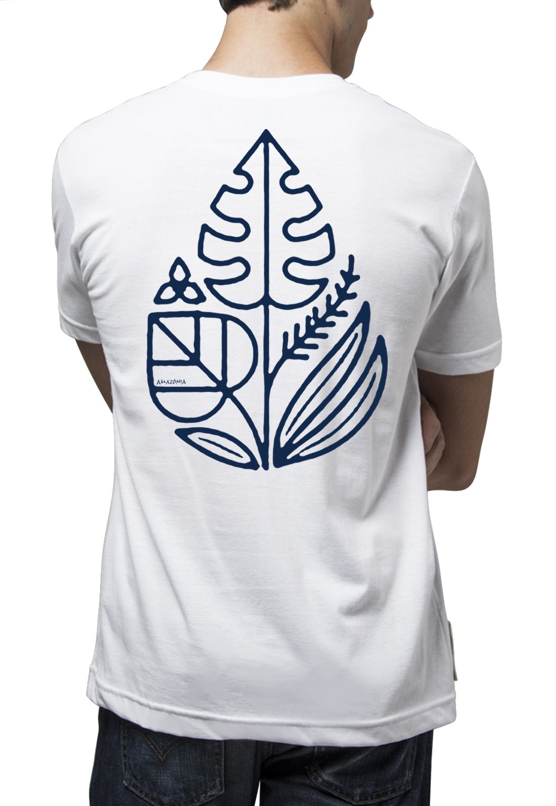 Camiseta Amazônia Green is Life - Branco