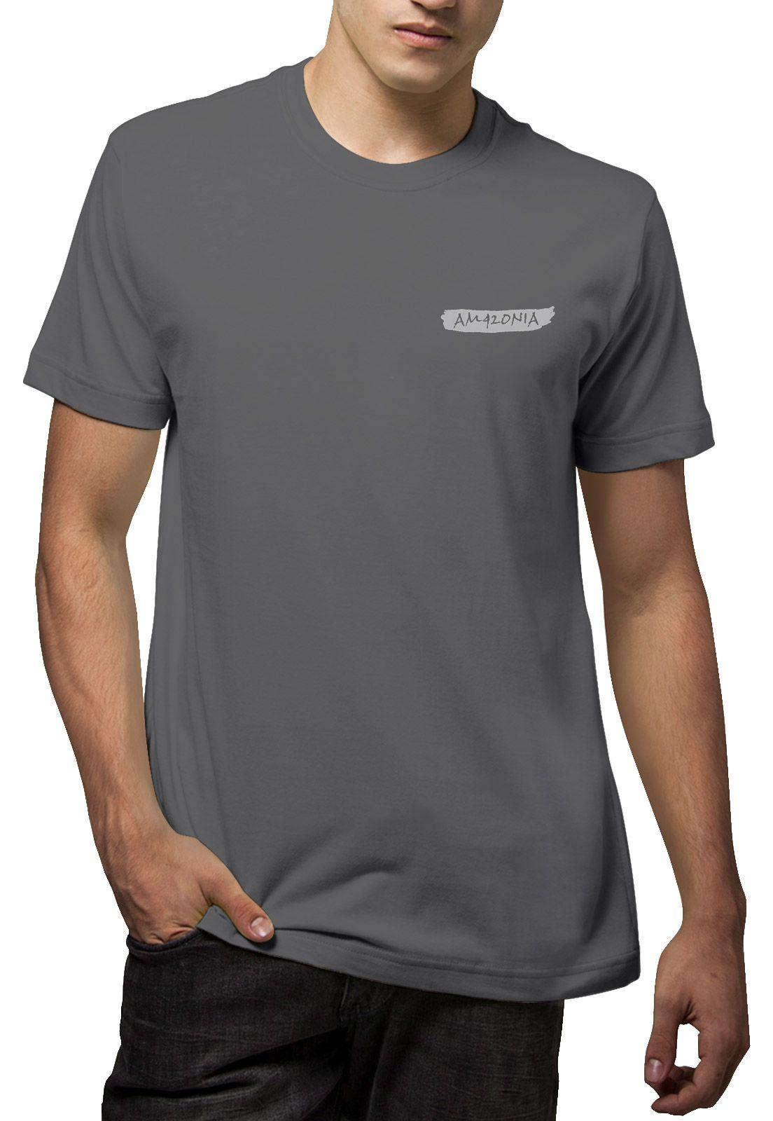Camiseta Amazônia Guitarra Amazônia - Cinza