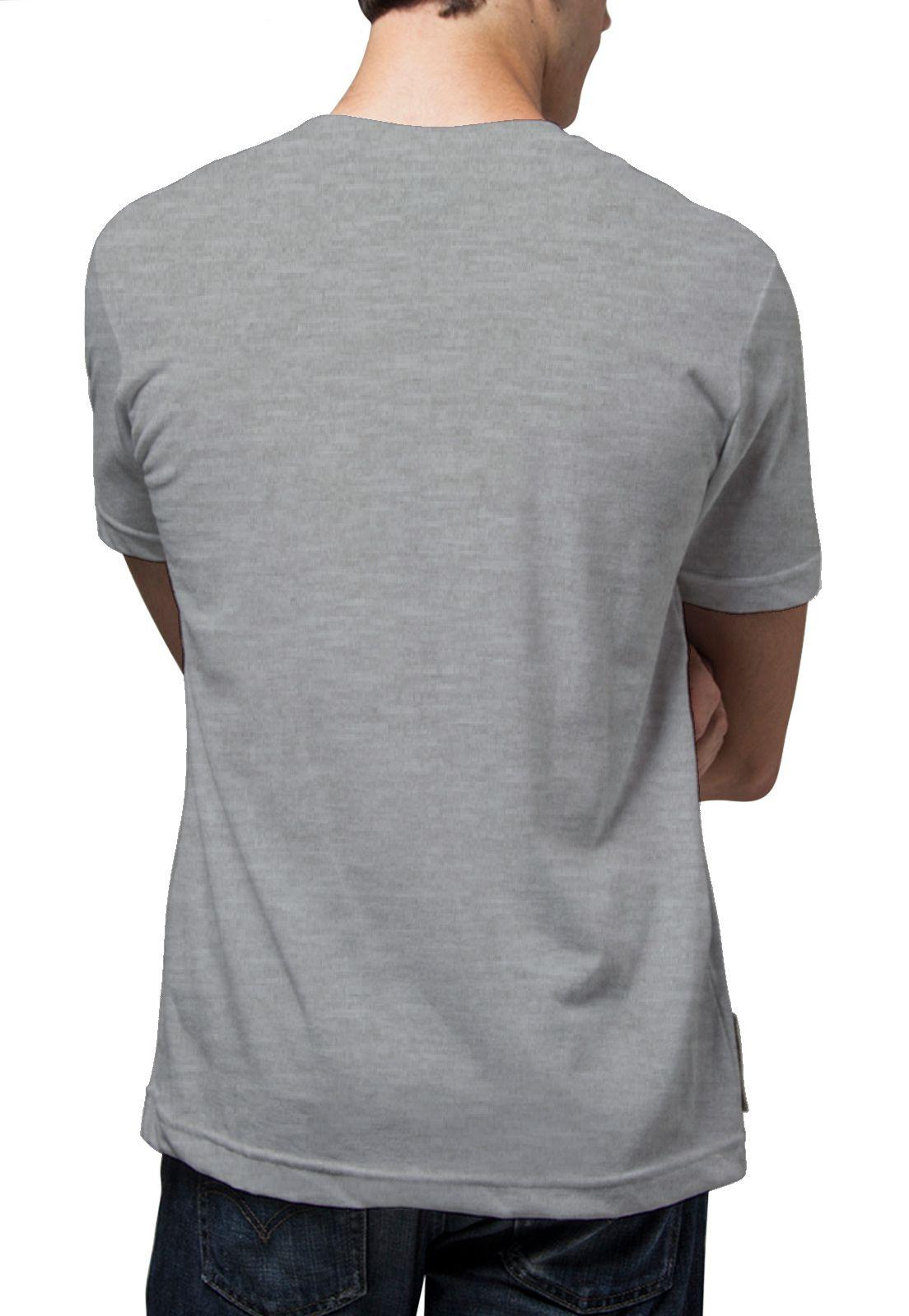 Camiseta Amazônia Jubarte - Cinza