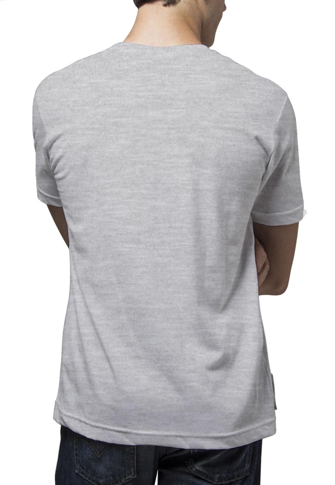 Camiseta Amazônia Kombi - Mescla Claro