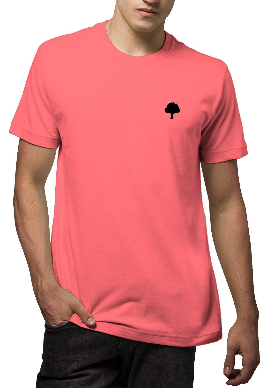 Camiseta Amazônia Lapis Logo - Vermelho