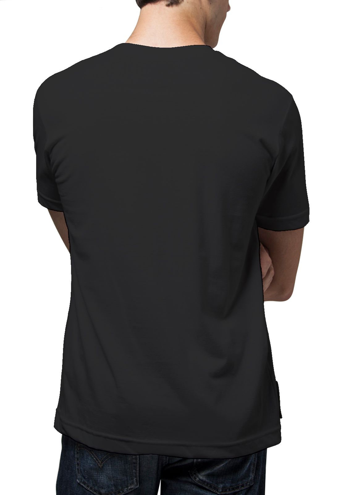 Camiseta Amazônia Coqueiro Degradê - Preto