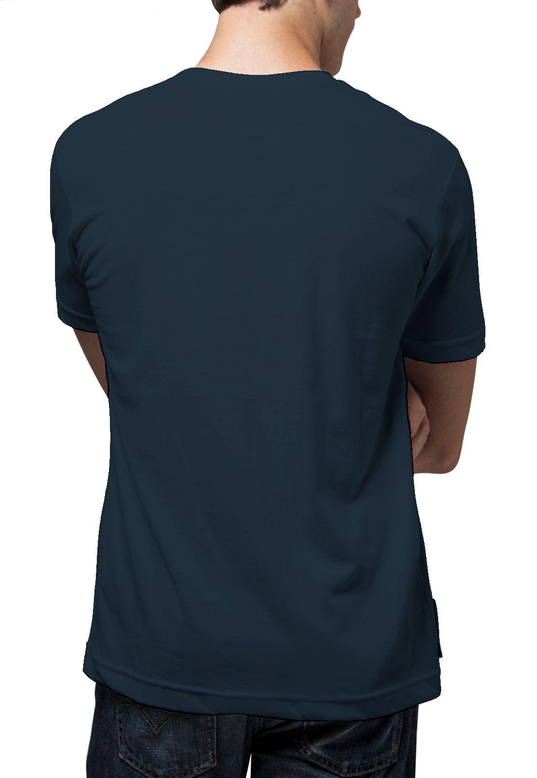 Camiseta Amazônia Lobo - Azul Escuro