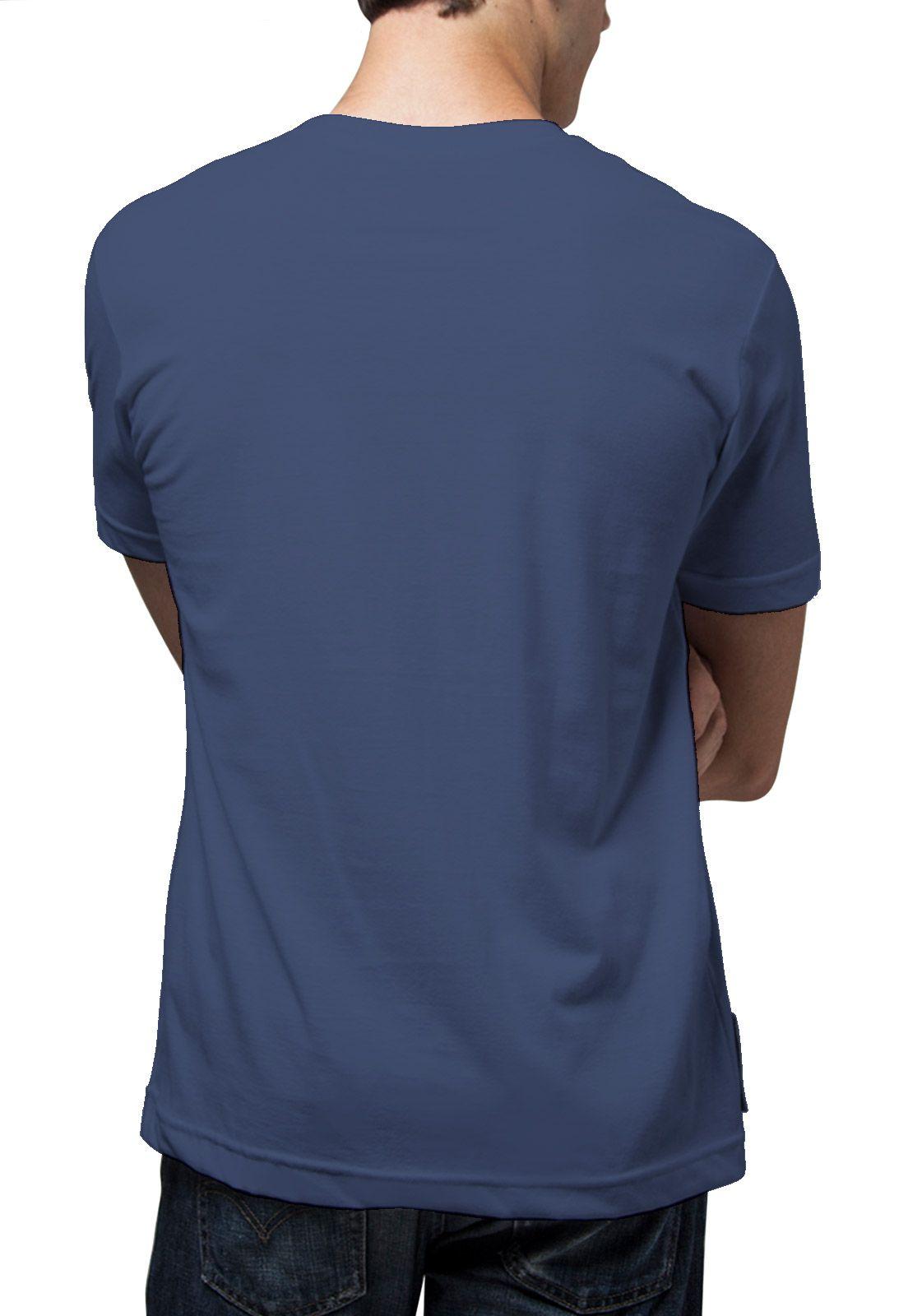 Camiseta Amazônia Lobo - Azul