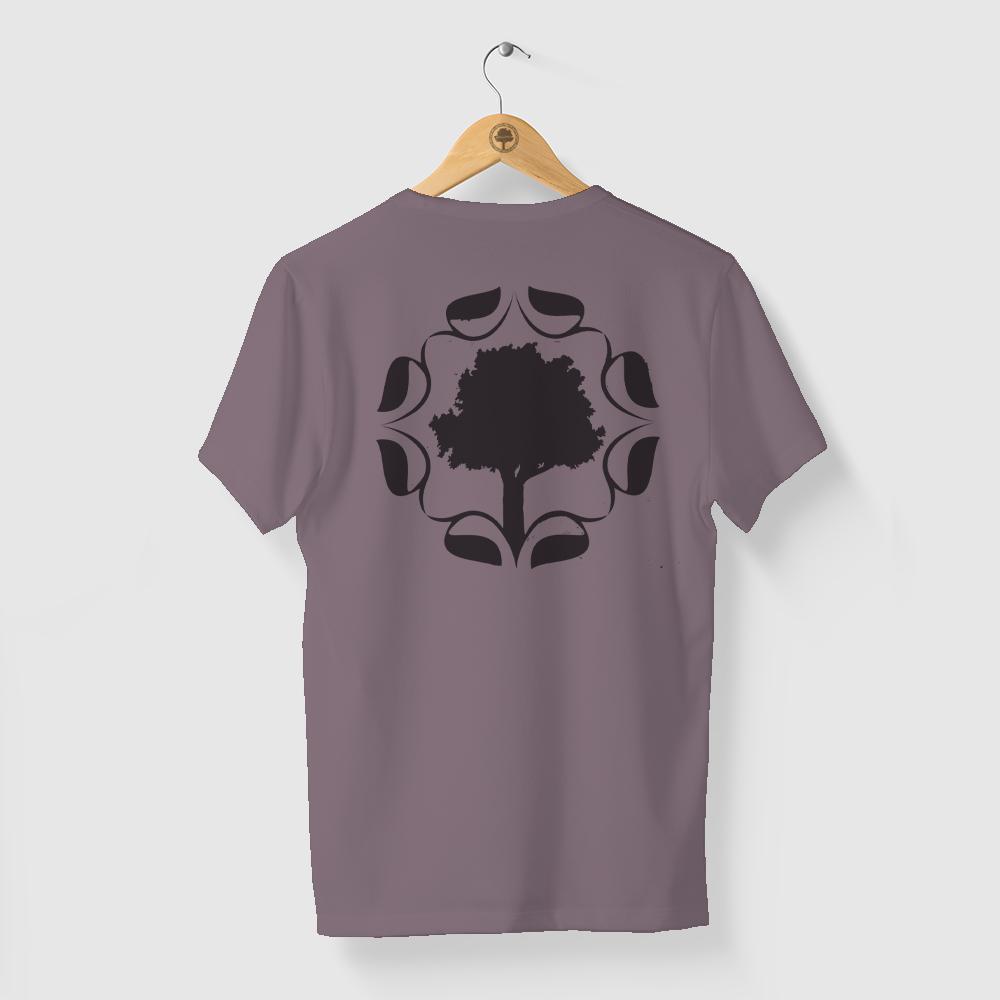 Camiseta Amazônia Logo Indiana - Lilás