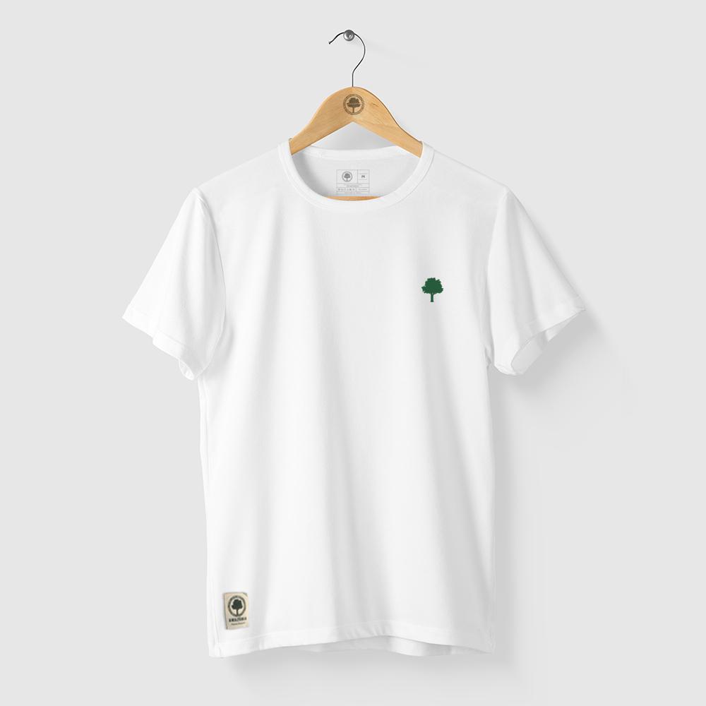 Camiseta Amazônia LOGO OFICIAL - BRANCO