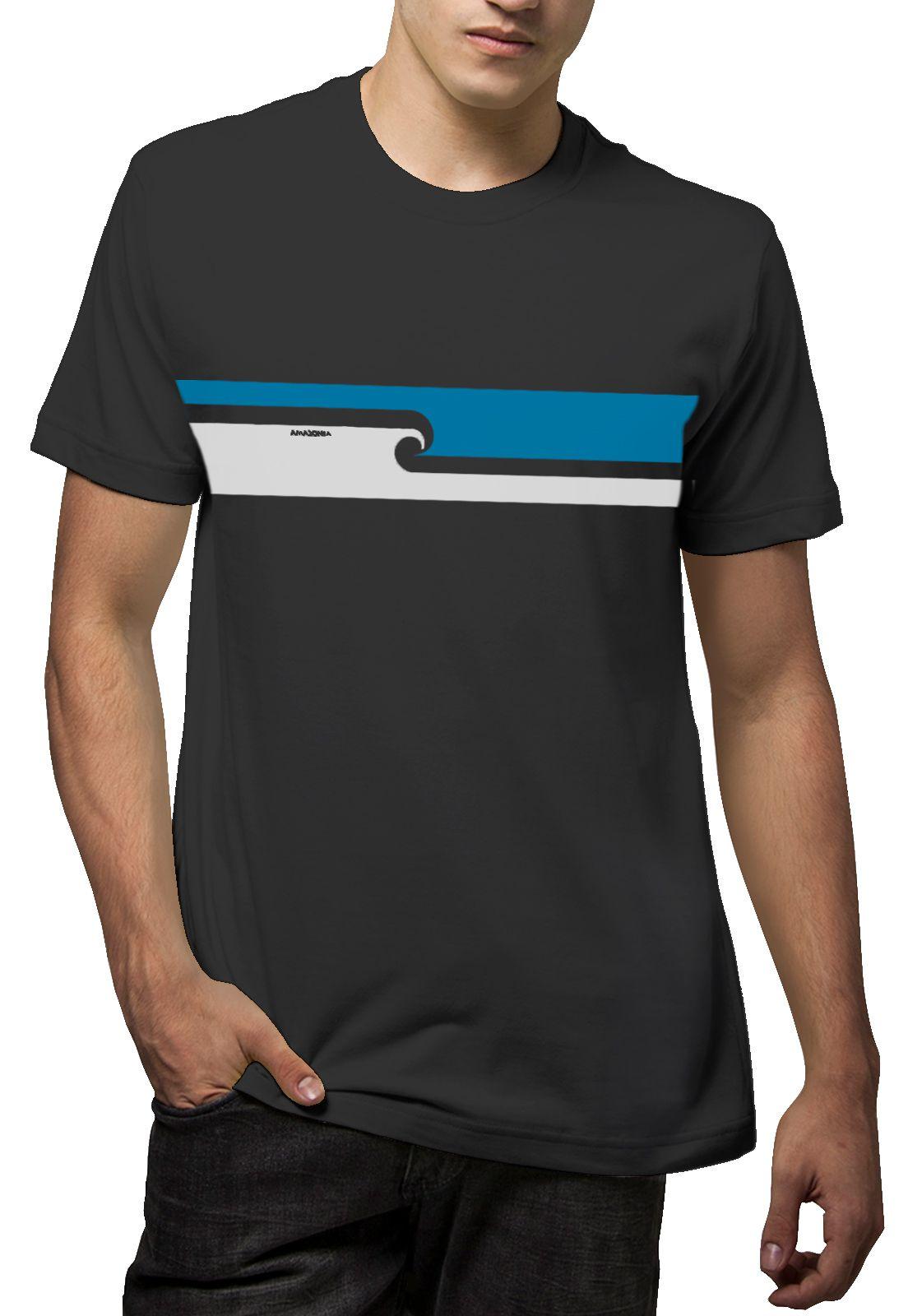 Camiseta Amazônia Maori Flag- Cinza Escuro