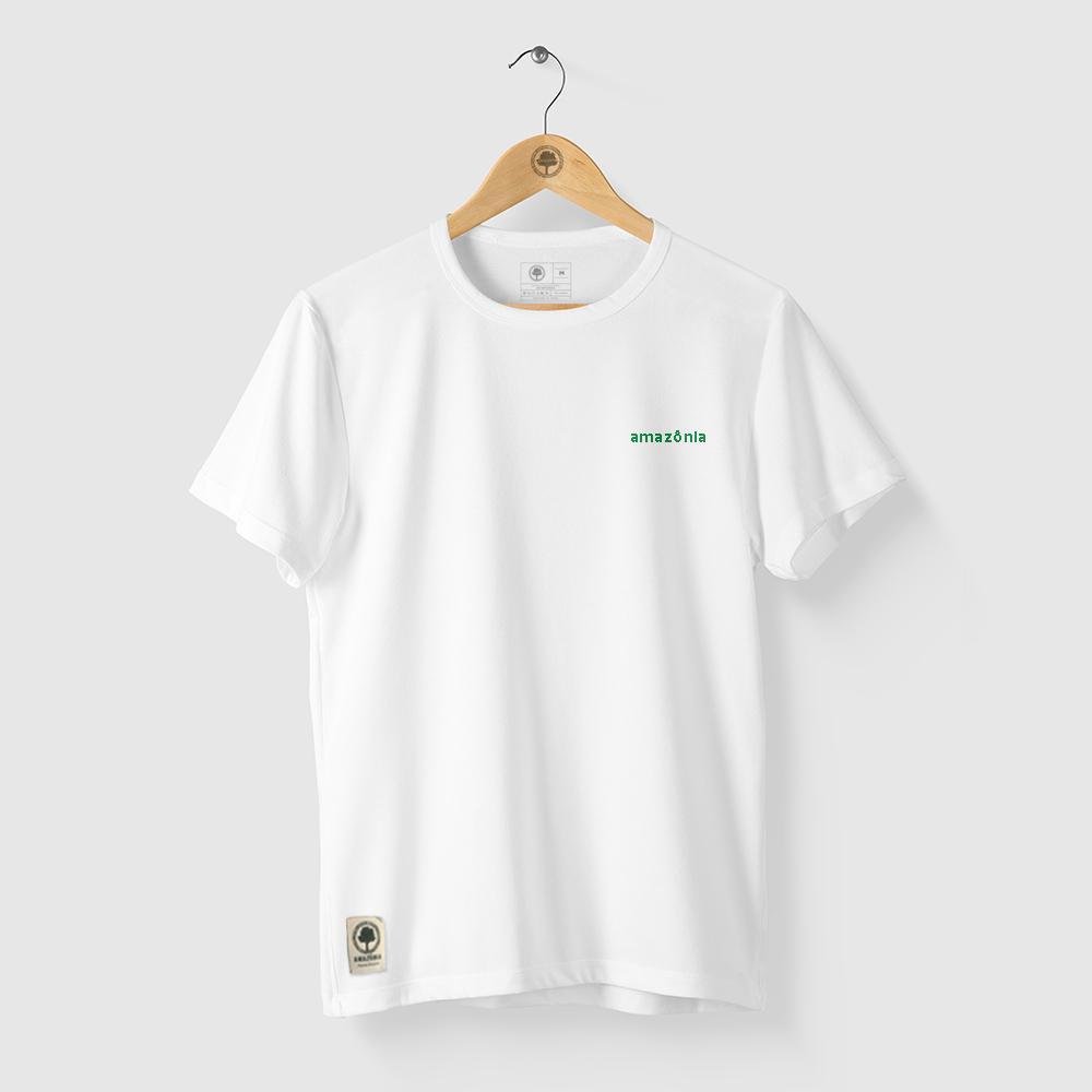Camiseta Amazônia MIL FOLHAS - BRANCO