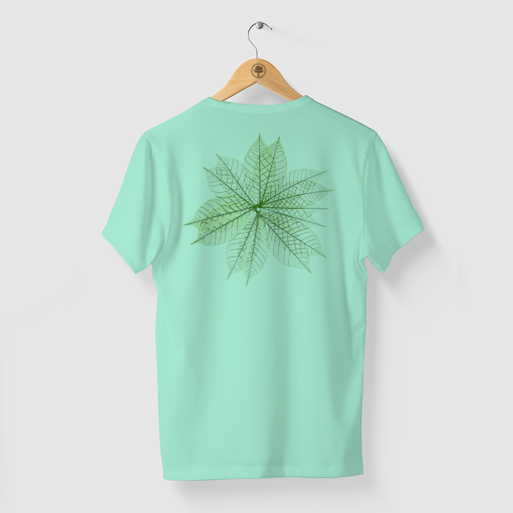 Camiseta Amazônia MIL FOLHAS - VERDE CLARO