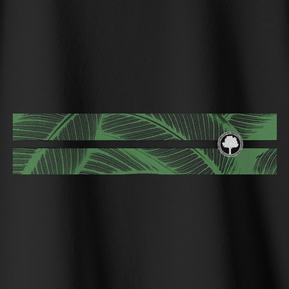 Camiseta Amazônia NATURAL LISTRA- PRETO