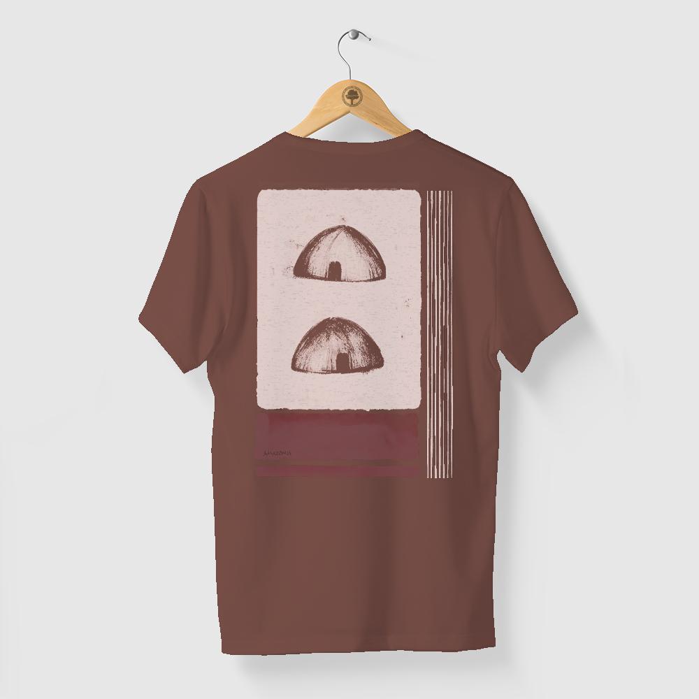 Camiseta Amazônia OCA - MARROM