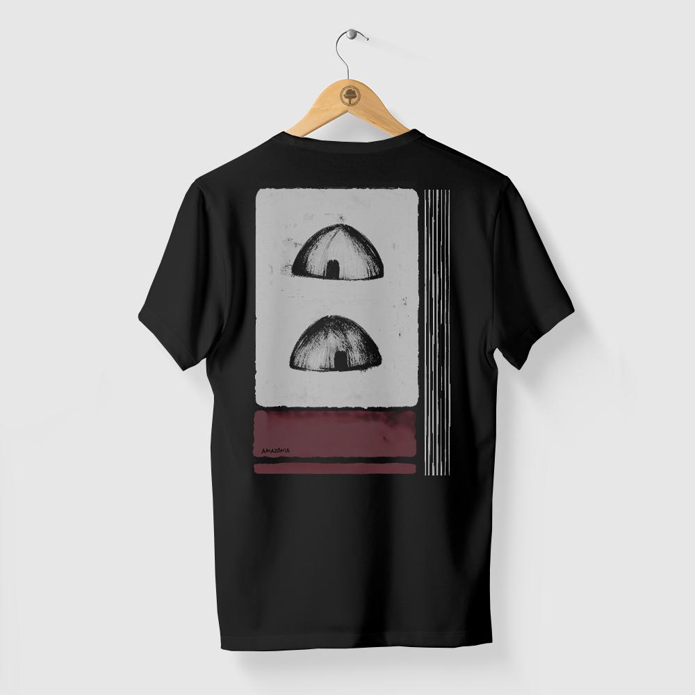 Camiseta Amazônia OCA - PRETO