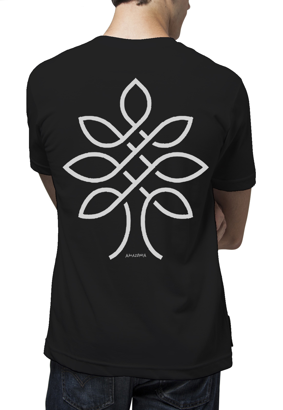 Camiseta Amazônia One Tree - Preto