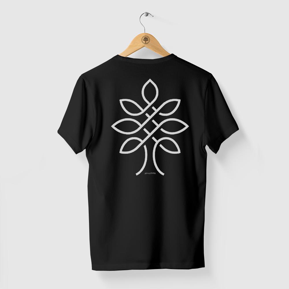 Camiseta Amazônia One Tree - Preto
