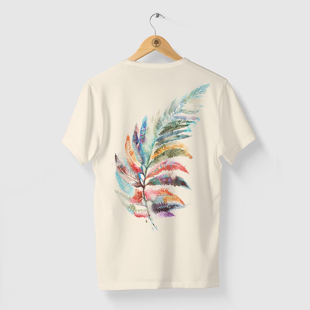 Camiseta Amazônia ORGANICOR - OFF WHITE