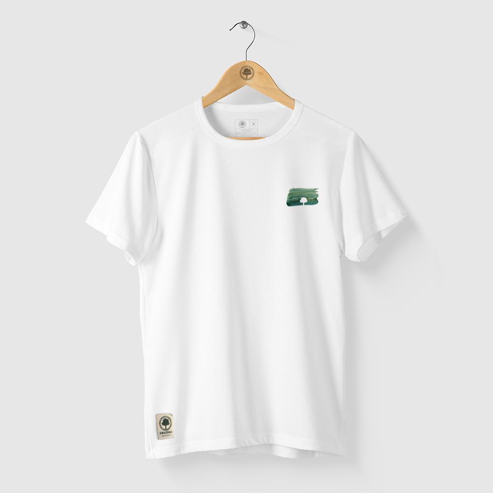Camiseta Amazônia PACHA MAMA - BRANCO
