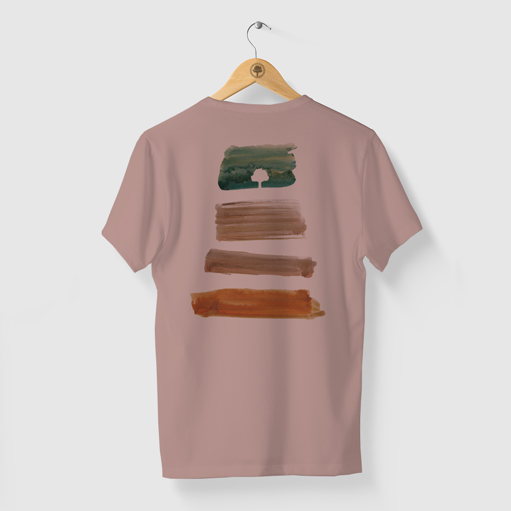 Camiseta Amazônia PACHA MAMA - ROSA