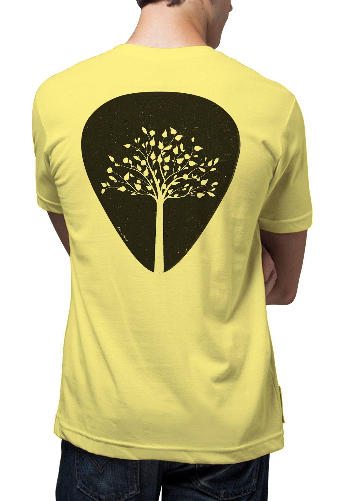 Camiseta Amazônia Palheta - Amarelo