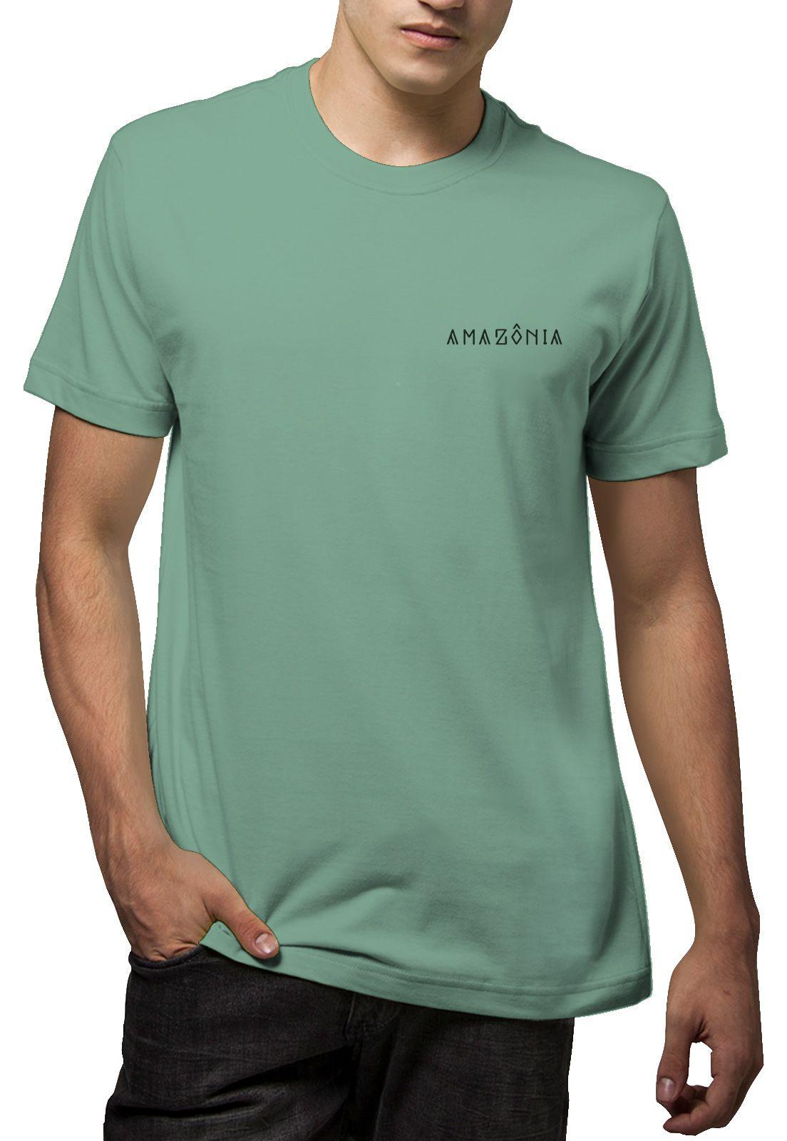 Camiseta Amazônia Palm - Verde