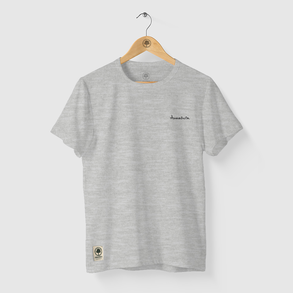 Camiseta Amazônia Panapanás - Mescla Claro